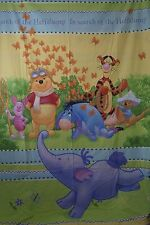 Disney Winnie the Pooh In Search Of Heffulump Duvet Pillowcase Quilt Set Fabric