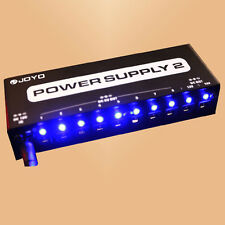 10 Isolated Output Guitar Effect Power Supply 9V 12V 18V-FREE SHIPPING TO AU