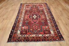 Ancien en laine fait main persan oriental floral runner zone tapis moquette 202x122CM