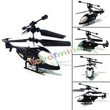 3CH enfant Télécommande Micro Mini hélicoptère Modèle d'aéronef 3 canal Noir