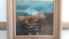 19 century painting Charles Daubigny. Peinture 19 siècle signée Daubigny
