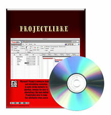 Project Management Application For PC with Microsoft Windows XP Vista 7 CDROM