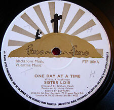 "Sister Lois One Day At A Time 12"" Face To Face FTF 1004 Mansion Over The Hilltop"