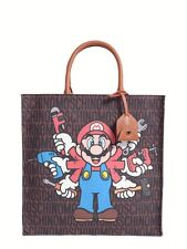 Super MOSCHINO Couture X Jeremy Scott Super Mario Nintendo Shopping Bag Limited