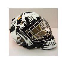 79c6cfa0c78 Vaughn 7500 SR Goal Ice Hockey Goalie Cat Eye Mask Helmet Black Senior Large