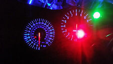 BLUE KAWASAKI ZX12R led dash clock conversion kit lightenUPgrade