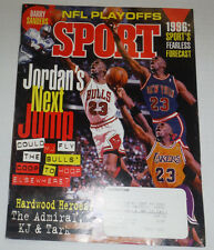 Sport Magazine Michael Jordan & Hardwood Heroes January 1996 120614R2