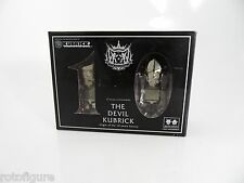 Devilrobots Decade 10 Year Anniversary Medicom The Devil Kubrick Gold Set NIB