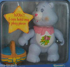 MIP Vintage Poseable CARE BEAR Figure 1984 Kenner GRAMS Toy Accessory Complete