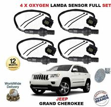 FOR JEEP GRAND CHEROKEE 6.4 2012-  NEW 4 X 02 OXYGEN LAMBDA SENSOR FULL SET