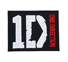 1D ONE DIRECTION PATCHES EMBROIDERED SEW OR IRON ON SIZE 3x2.5""