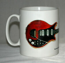 Guitar Mug. Brian May's Red Special 'Old Lady' illustration.