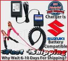 Suzuki Motorcycle 12 Volt Battery Maintainer Tender Float Smart Charger 12v NEW