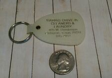 Vintage Harris Drive - In cleaners & laundry Cleburne Texas Keychain Fob