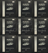 1998 Subaru Legacy and Outback Shop Manual 9 Volume Set OEM Repair Service