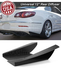 "12"" G3 Rear Bumper Lip Downforce Apron Splitter Diffuser Canard For Mazda Subaru"