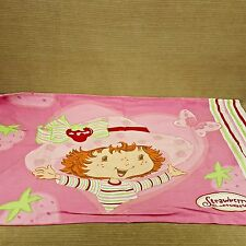 Strawberry Shortcake Doll Standard Pillow Case Cover Pink Girls Bedroom Vtg