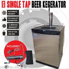 NEW Single Tap Beer Kegerator Fridge Dispenser Cooler Goes To -4 Degrees