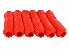 RED Shock Boots 6 PACK for Jeep Truck and SUV UNIVERSAL FITMENT FREE SHIPPING