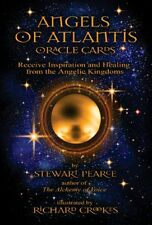 ANGELI DI ATLANTIDE Oracle cards by Stewart Pearce NUOVO