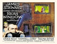 "Rear Window (1954) Movie Silk Poster 20""x24"" Alfred Hitchcock James Stewart"