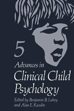 Advances In Clinical Child Psychology: Volume 5