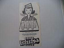 advertising Pubblicità 1960 FRIZZINA STAR