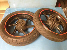 HONDA CBR600 F2 CBR 600 1991-1994 RIM WHEEL WITH TYRES FRONT & REAR SET WHEELS