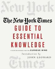 The New York Times Guide to Essential Knowledge Soft Cover