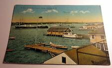 Color Postcard of Visit from the French Ships in Sydney, Australia 1911 Postmark