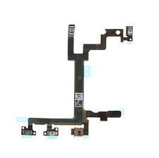 New Power Mute Volume Control Button Switch Connector Flex Cable for iPhone 5 5G