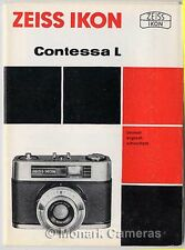 Zeiss Ikon Contessa L Camera Instruction Leaflet 1966, Other Manuals Listed