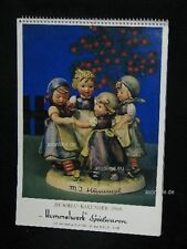 """Goebel Hummel Kalender Calendar 1969, Titelbild """"Ringelreihen"""""""