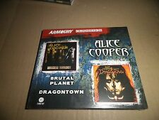 Alice Cooper - Brutal Planet / Dragon Town (2 x CD) 2 Original Albums (New)