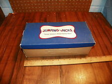 Vintage JUMPING JACKS Cardboard Shoe Box                                       +