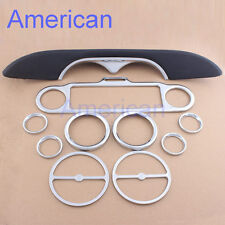 Inner Faceplate Accent Fairing Trim Dash Stereo Ring For Harley Touring 86-13