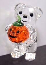 KRIS BEAR A PUMPKIN FOR YOU 2016 HALLOWEEN HOLIDAY SWAROVSKI CRYSTAL #5223252