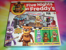 5 NIGHTS AT FREDDY'S - THE STAGE SHOW Construction Set - GOLDEN FREDDY VISIBLE