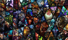 "D019 Keyboard Mouse Pad Play Mat Custom Card Game Playmat 23.6""*13.8"" for DOTA 2"
