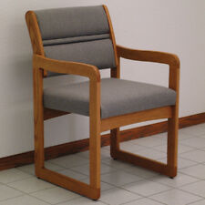 "Wooden Mallet Valley Guest Chair- DW1-1MOCG Chair 21.5"" x 33.5"" x 23.25"" NEW"