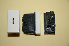 Legrand Mosaic - 0740 04 - 20a Two Way key Switch Module With Key Un-used
