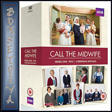 CALL THE MIDWIFE -COMPLETE SERIES 1 2 3 4 & 5 +SPECIALS *BRAND NEW DVD BOXSET***