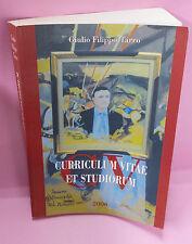 Curriculum Vitae - Giulio Filippo Tarro Ed. 2006