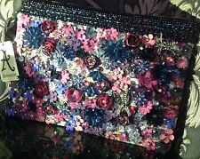 BNWT MONSOON ACCESSORIZE WOW ENVELOPE ENCRUSTED CLUTCH BAG WEDDING PARTY *SALE*