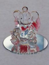 ELEPHANT & LUCKY STAR@Cute@Unique Gift~Mirror Base@YOU ARE A STAR Cake Topper
