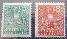 Österreich 1945 Freimarken Wappen aus Mi.697 - 719
