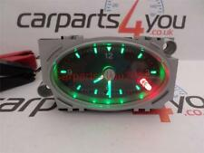 Ford mondeo MK3 01-07 noir face green & red led horloge temps + gratuit uk envoi