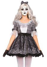 Doll Costume Gothic Porcelain Doll Medium 3pc Set Halloween Leg Avenue