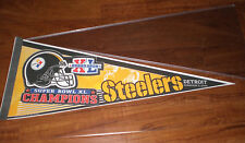 PITTSBURGH STEELERS 2006 SUPER BOWL XL CHAMPIONS PENNANTS - NEW