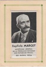 soie tissée Baptiste Marcet, secrétaire général des mutilés du travail, 22/04/56